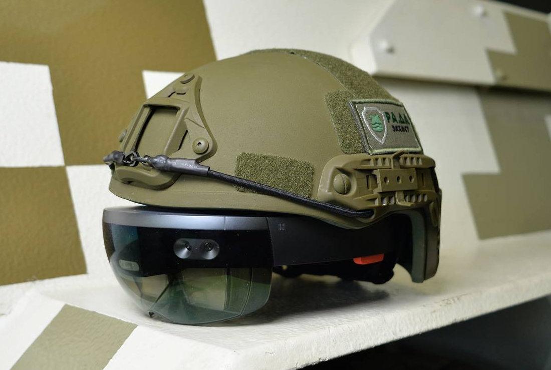 军方用HoloLens制定军事战术