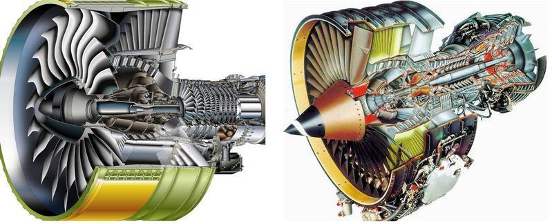 涡轮风扇发动机结构图