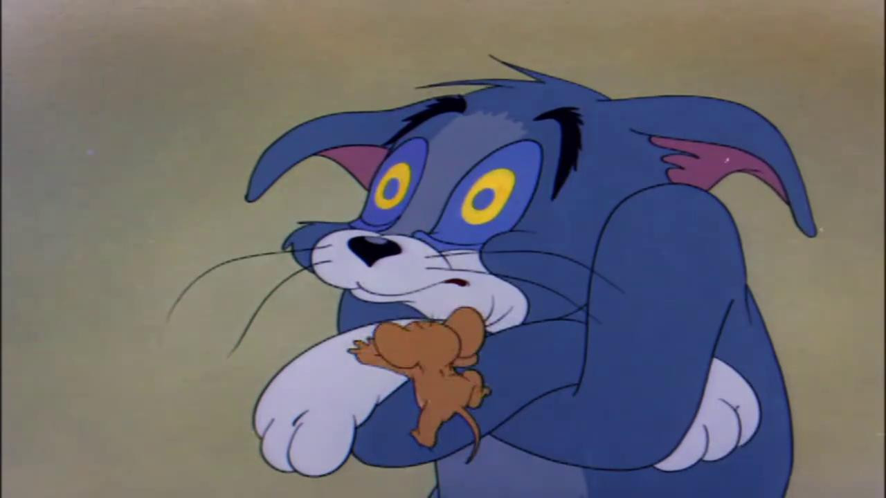 猫和老鼠:杰瑞的温柔陷阱,汤姆被女主人踢出家门,好惨啊