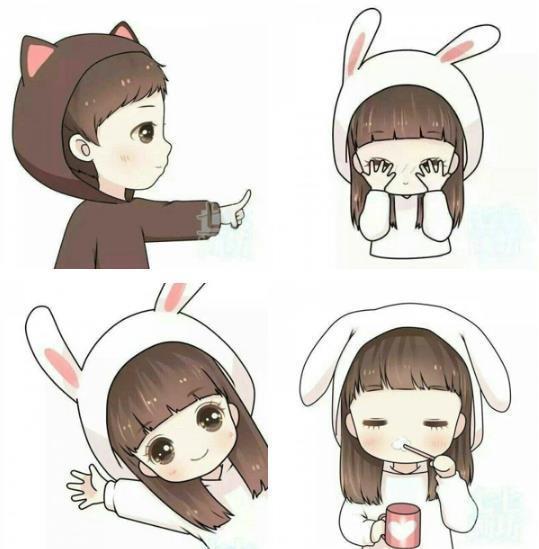 主人公小兔:女主人公,一只活泼可爱的小兔子.