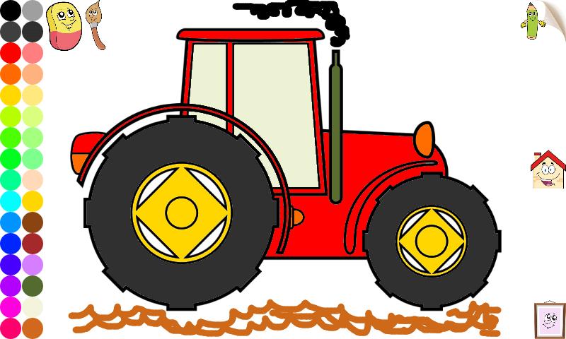简单画画玩具汽车