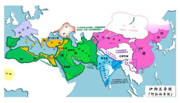 最地图,10分钟欣赏唐朝兴衰