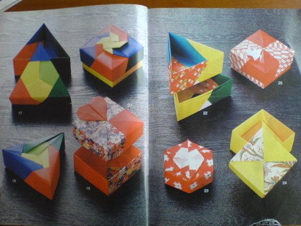 5种漂亮的折纸盒子的方法