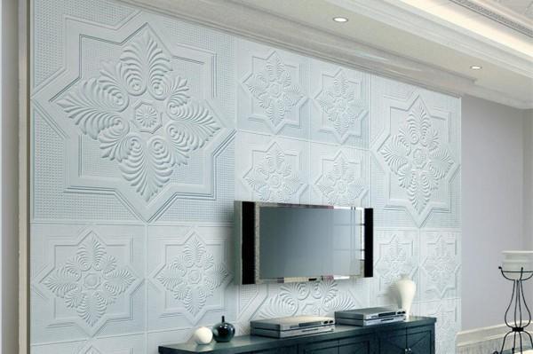 电视墙石膏线造型