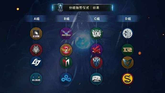 《英雄联盟》S6小组赛赛程出炉
