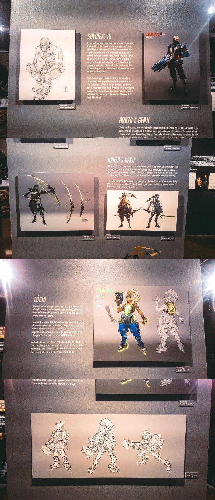 《守望先锋》暴雪总部办公区一览!多位英雄早期设计图曝光