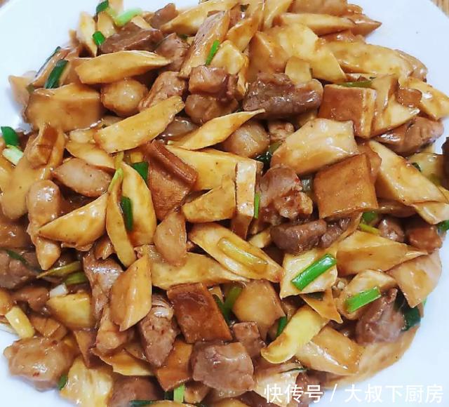 大叔家的本帮菜:肉丁小炒酱,香辣咸鲜,开胃下饭,家人喜欢!