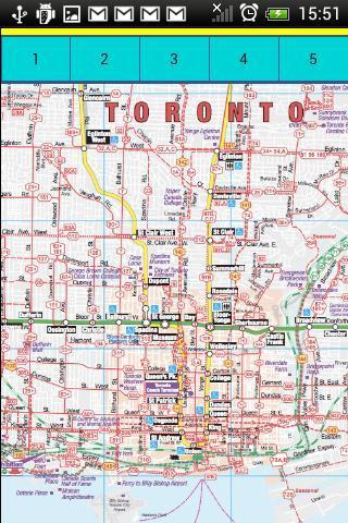 多伦多地图