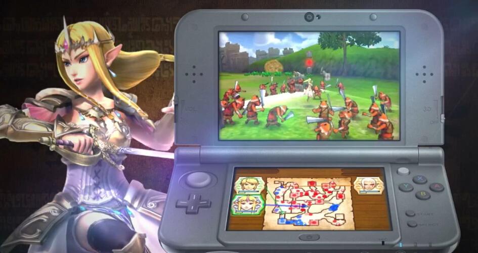3DS《塞尔达无双》季票公布 并将陆续配信4弹DLC