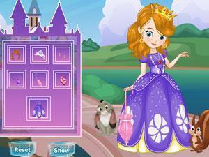 索菲亚公主装扮,索菲亚公主装扮小游戏,360小游戏-360游戏库