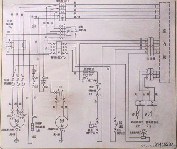 3p空调接线图