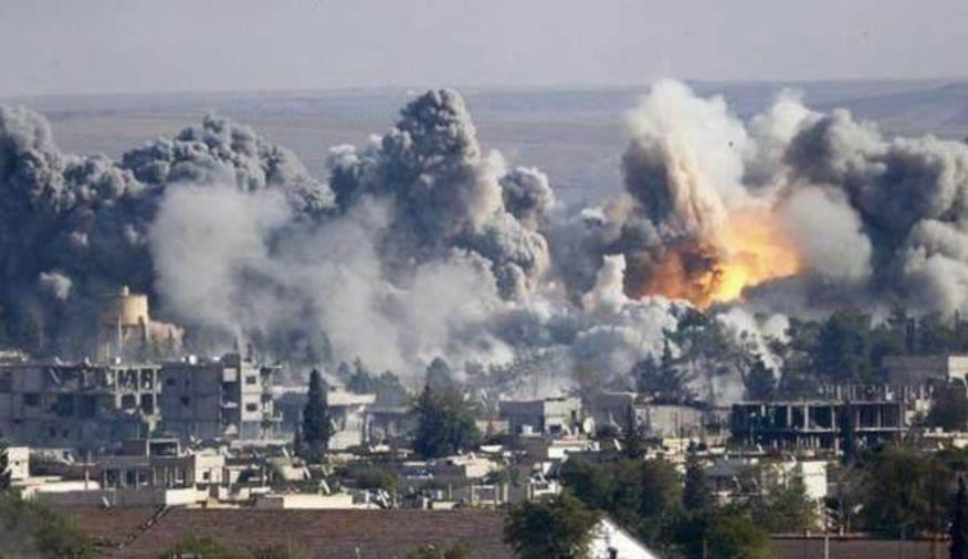 俄叙联军再次大开杀戒战机轮番轰炸,叛军土制炸弹遭实力碾