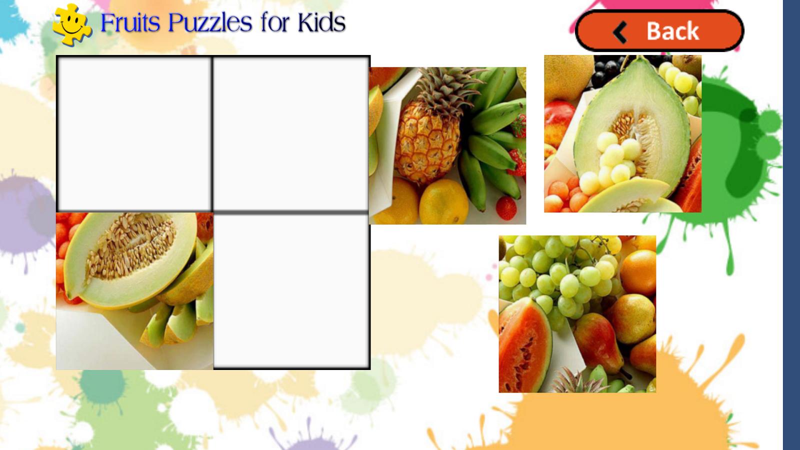 简单儿童水果动物手工