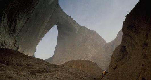 全球天然巨型石拱门最牛的在中国