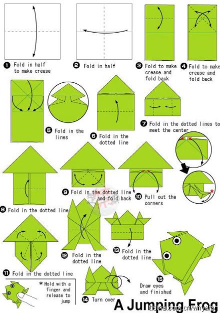 儿童简单叠纸步骤