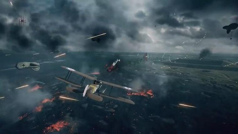 《战地1》战役模式截图(图片来自视频)