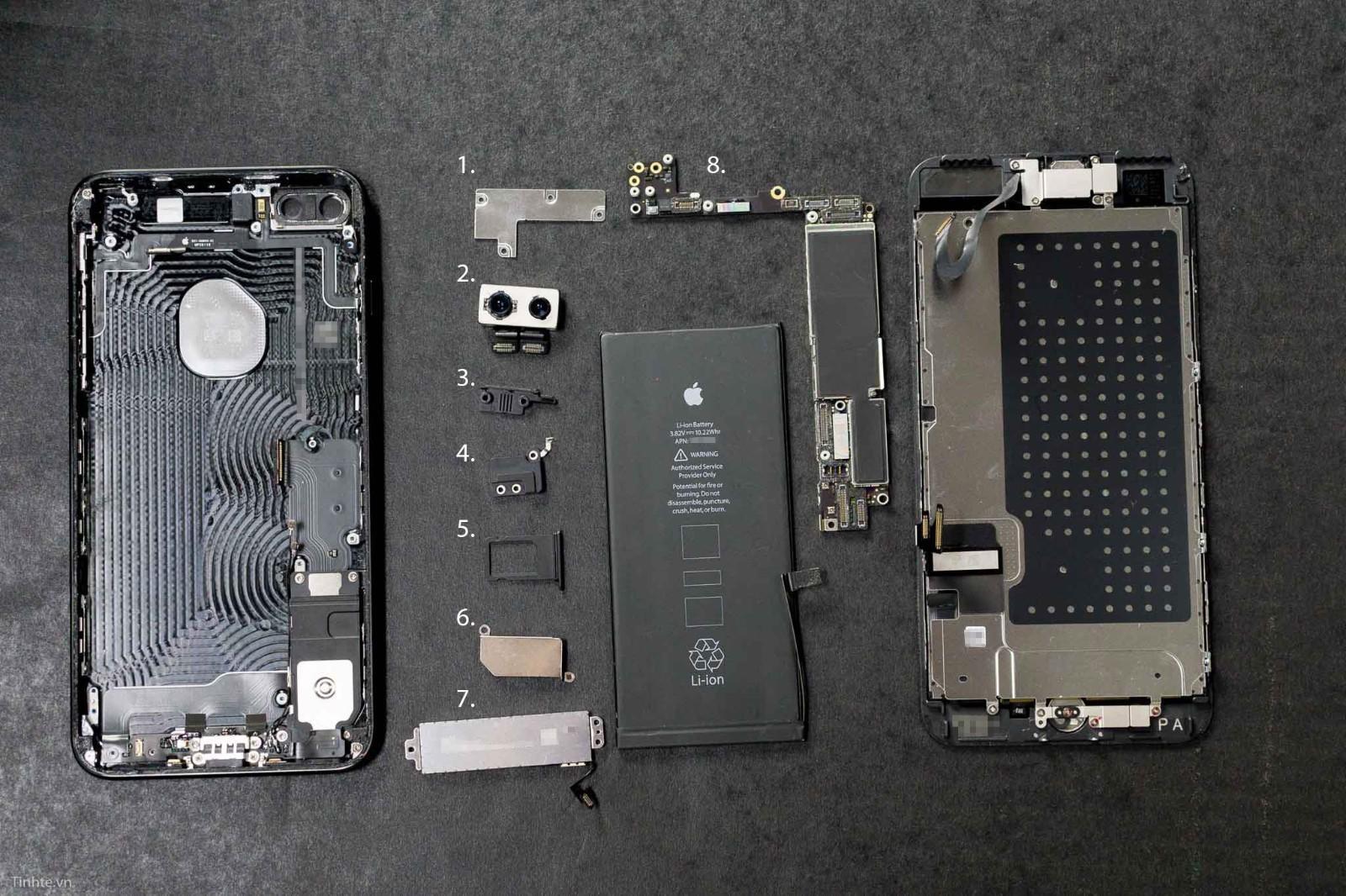 iphone 7 plus拆解,成本价1500卖7000