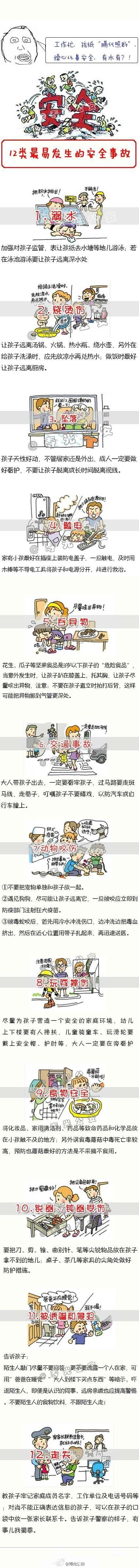 儿童最容易发生什么安全事故呢? - shengge - 我的博客