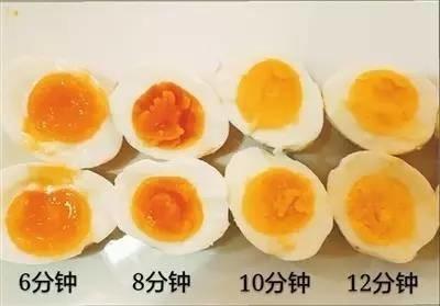 用一个实验告诉你:鸡蛋煮几分钟口感最好 -  - 真光 的博客