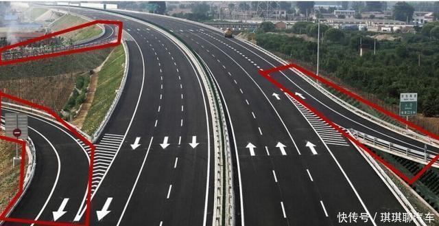 高速行车,如何从匝道行驶到主线?很多人都不知道