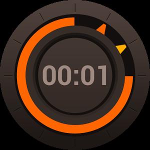 界面设计:  此设计是为了使您觉得在您手中拿着一个真正的秒表或