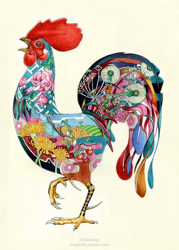 怎么画动物创意插画?