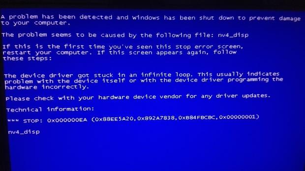 若驱动与硬件不兼容可能会导致蓝屏