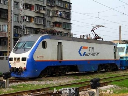中国铁路dj型电力机车