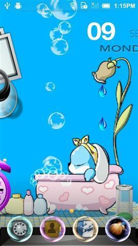 >洗澡时间壁纸