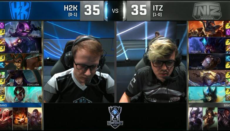 LOL S6总决赛 H2K击败外卡黑马Intz
