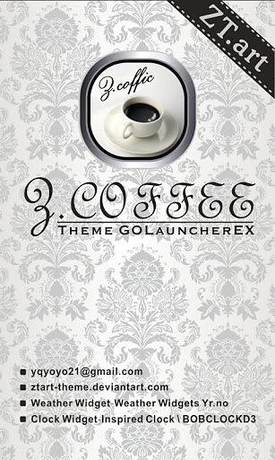 GO桌面主题 Z.CoffeeW截图1