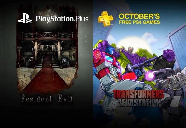 PSN10月份限免游戏