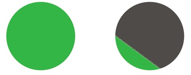 coreldraw里面矢量图转换位图锯齿怎么样才会最小?