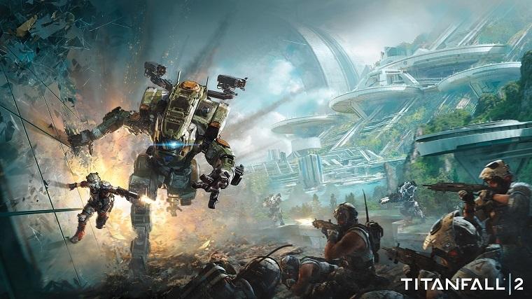 《泰坦陨落2》游戏宣传图