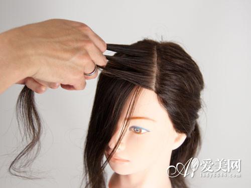 怎样编小孩头发好看 学编小孩头发图片(2)