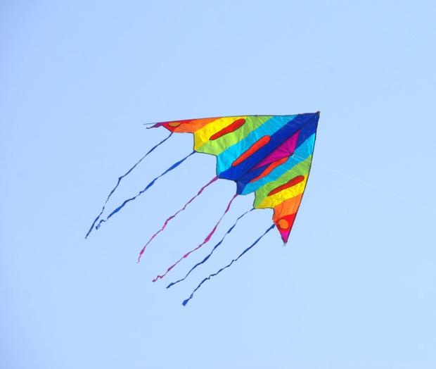 三角形的风筝怎么画好看
