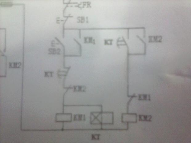 电动机正反转(自动)控制电路故障