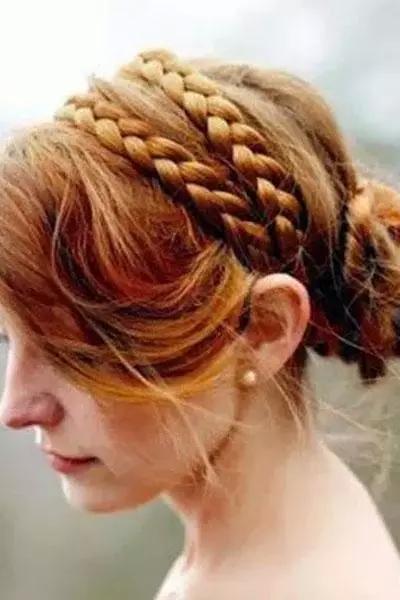 编织类的发型_编织类的发型分享展示图片