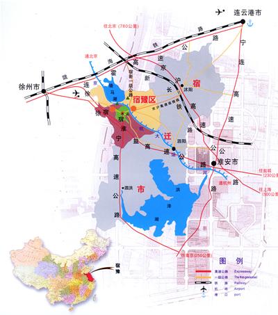 泗洪铁路地图