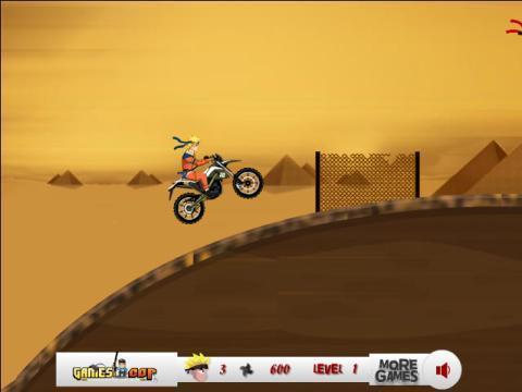 可爱鸣人摩托车