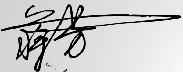 蒋芳的名字怎么设计签名