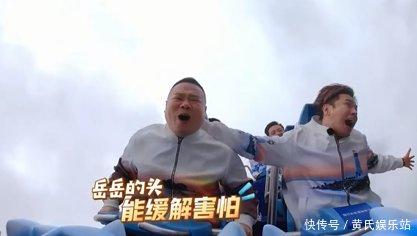 小岳岳表情挑战过山车,吓出表情,一脸懵逼老公超图包极限好的图片