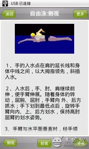 游泳动画教程截图2