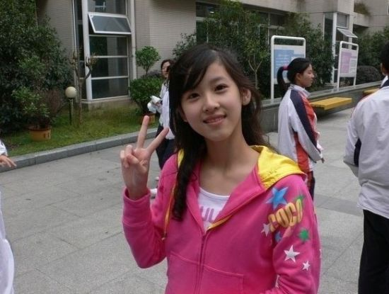 谁有15岁漂亮女生照片