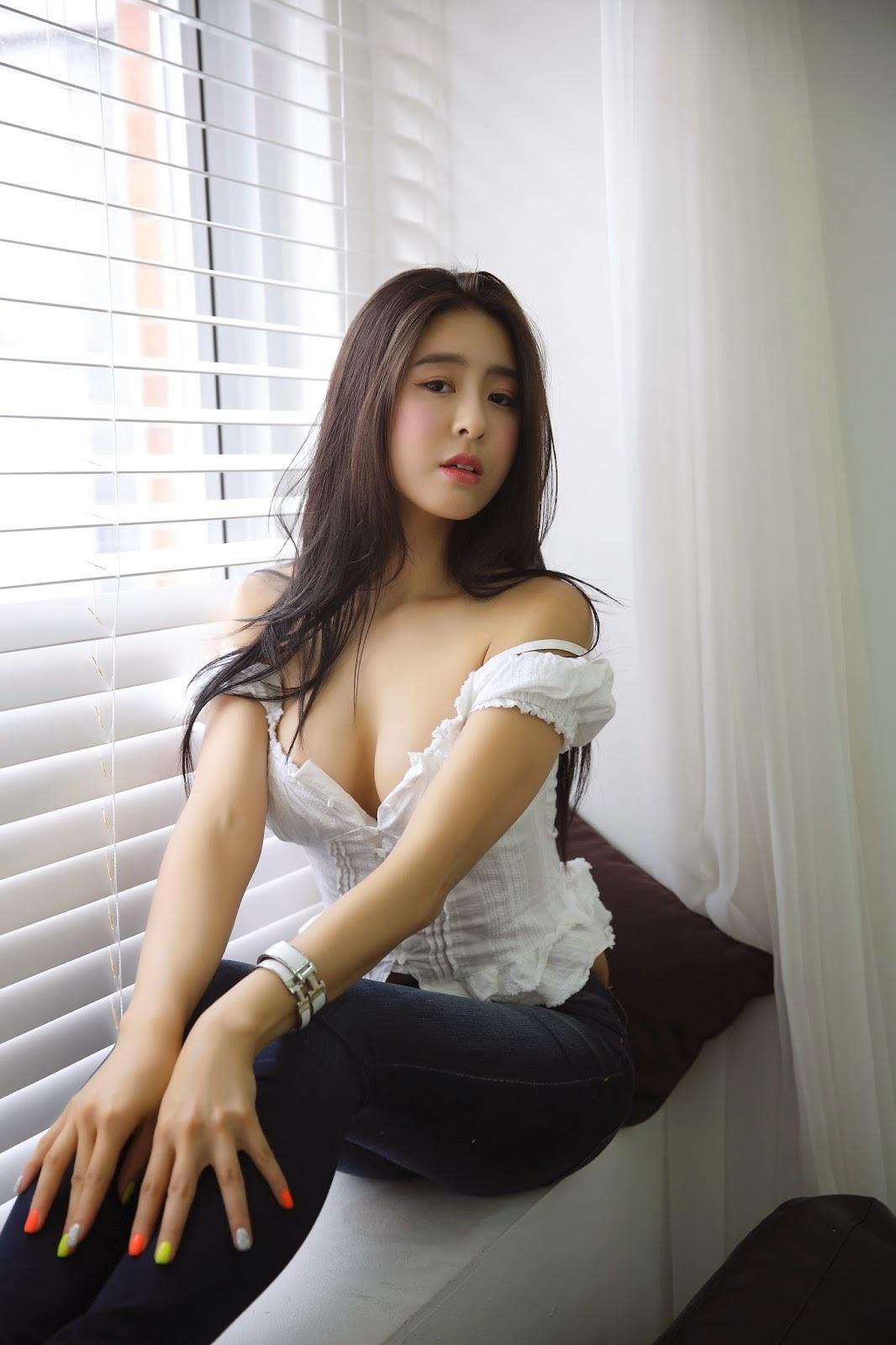 火辣!韩国健身女神晒私照 E杯上围呼之欲出 - 蔷薇花 - 蔷薇花