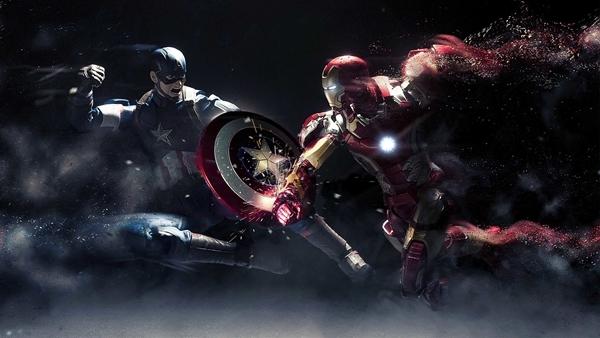 最近《美国队长3》上映,原本cp感极强的队长和钢铁侠居然开始内战.