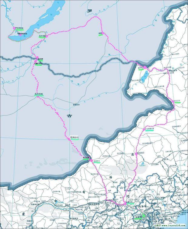 贝加尔湖地图-在线图片欣赏   主要湖泊有贝加尔湖拉多加...