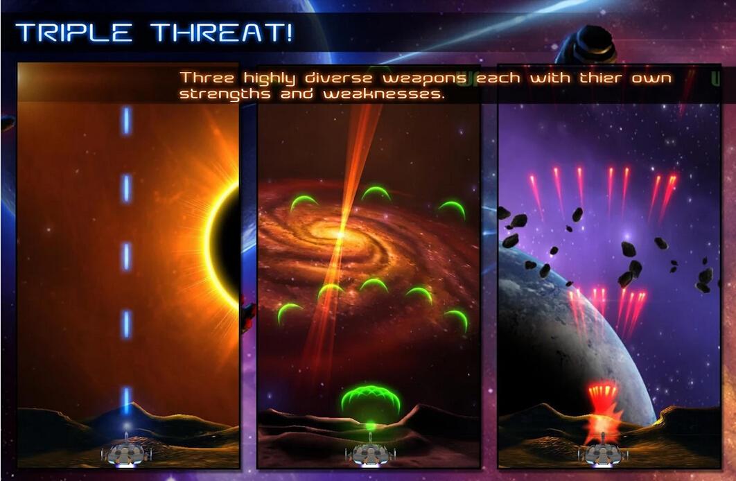 游戏 飞行射击 小行星冲击波