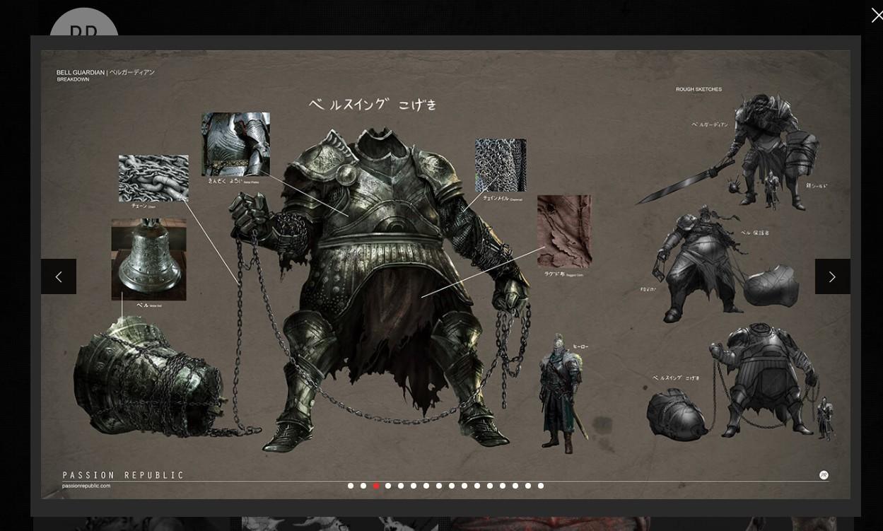 《黑暗之魂3》DLC原画被曝光