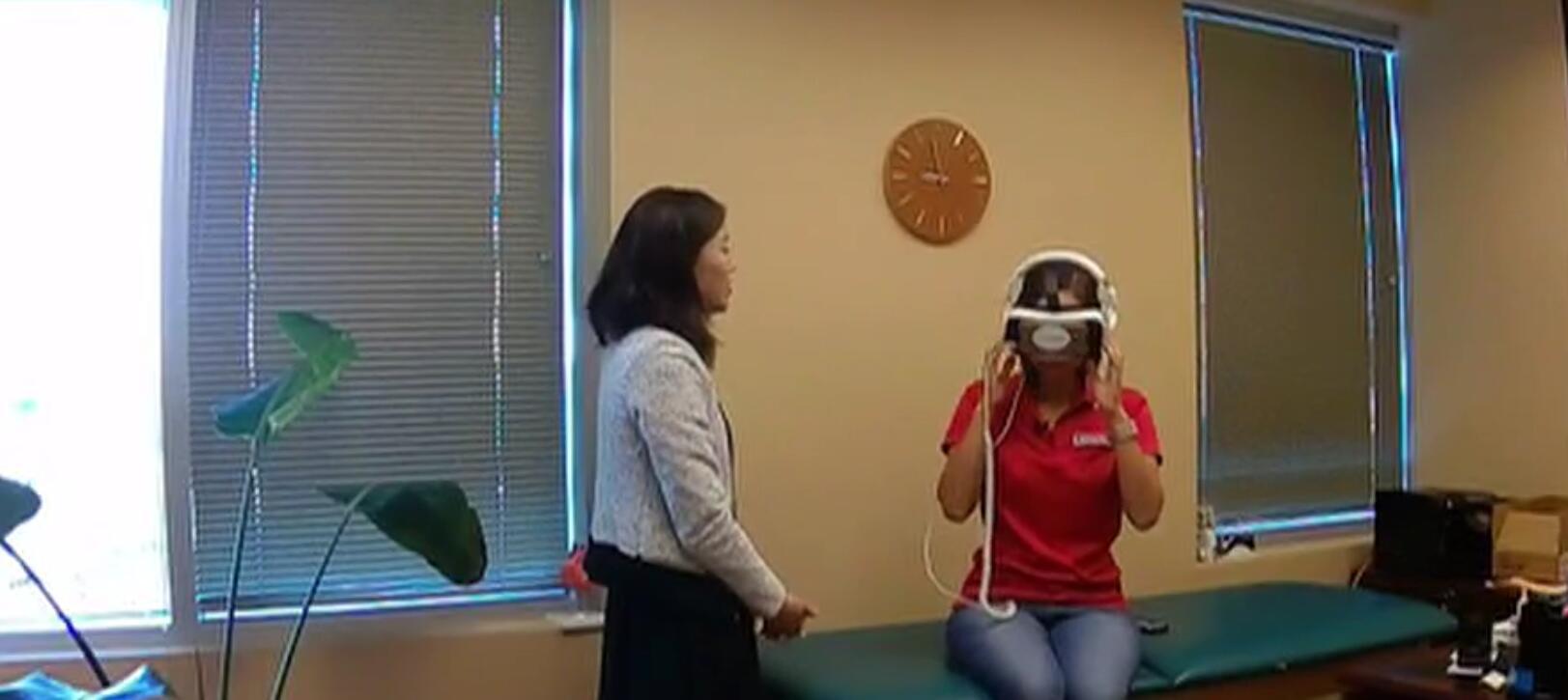 用VR帮病人减轻痛苦
